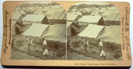 REFUGEES'CAMP , DURBAN , NATAL , SOUTH AFRICA - Stereo-Photographie