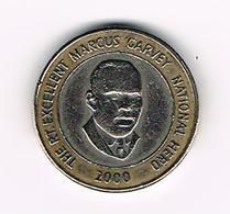 &  JAMAICA  20 DOLLARS  2000 - Jamaique