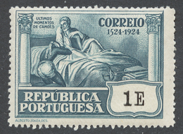 Portugal 1924 Mi# 336** CAMOENS DYING - Neufs