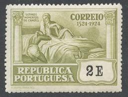 Portugal 1924 Mi# 340* CAMOENS DYING - 1910-... Republic