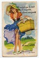 34  - La Salvetat - Carte A Syhtème - A Moins Que Le Vent L'emporte,soulevez Mon Panier - Other Municipalities