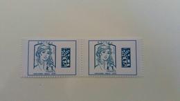 FRANCE 2017 - Marianne Datamatrix - Paire 5019 - Unused Stamps