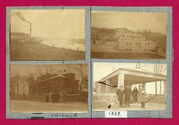 Vingt Photographies Anciennes Collées Sur Fiches - Allemagne - Berlin - Köpenick - Orte