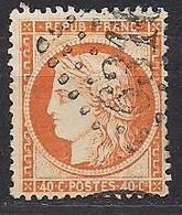 Frankrijk France 1870 Yvert Nr 38 (0) Obliteré Cote 10 Euro - 1863-1870 Napoléon III Lauré