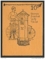 412 G-B Booklet Bicycle Bicyclette Cycling Fahrrad Bicicleta Bicicletta Mailbox Boite Lettres Stitched (GBB-32) - Post