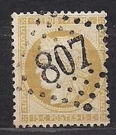 Frankrijk France 1871 Yvert Nr 59 (0) Obliteré Cote 8 Euro - 1863-1870 Napoléon III Lauré