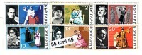 1970 MUSIC -Chanteurs D'Opera 6v.- Used/oblit.(O)BULGARIA / Bulgarie - Gebraucht