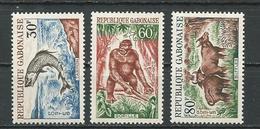 GABON  Scott 172-174 Yvert 171-173 ** (3) Cote 5,90  $ 1964 - Gabon (1960-...)