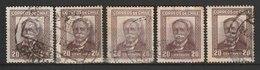 MiNr. 186 Chile / 1931, 12. Aug. Freimarke: Manuel Bulnes, In Neuem Rahmenmuster. - Chile