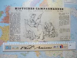 Images Satiriques Illustrateur Léonce Petit : 4 Images Provenant Du Journal Amusant - Alte Papiere