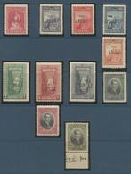 1927 Turkey Agricultural And Industrial Exhibition At Izmir (Smyrna) Overprint Complete Set (** / MNH / UMM) - Nuevos