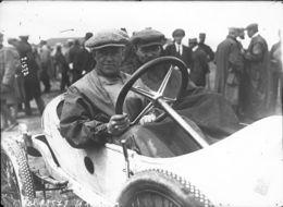 Dragutin Esser Sur Son Mathis Avant Le Grand Prix De France Au Dieppe 1912 -  15x10cms PHOTO - Grand Prix / F1