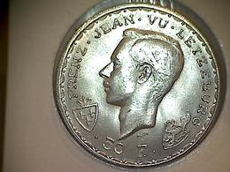 Luxemboug 50 Francs 1946 Jang De Blannen - Luxemburgo