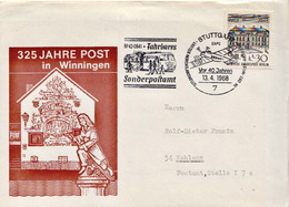 Postal History Cover: Germany Stamp On Cover - Post