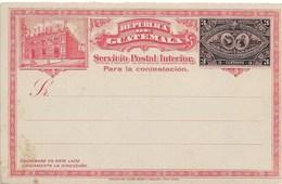 Guatemala Mint Stationary Card With Reply Card - Guatemala
