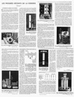 LES PROGRES RECENTS De La VERRERIE  1946 ( 3 ) - Technical