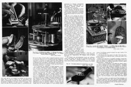 LE CENTENAIRE Des OISEAUX-CHANTEURS Mecaniques De BLAISE BONTEMS 1948 - Other Collections