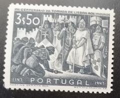N671 PORTUGAL. 1947. SC#: 688 - MH - CONQUEST OF LISBON  - SCV: US$ 16.00 - 1910-... République