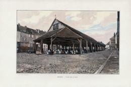 1902 - Phototypie Couleur - Réthel (Ardennes) - La Vieille Halle - FRANCO DE PORT - Non Classificati
