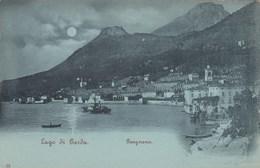 GARGNANO-BRESCIA-LAGO DI GARDA-CARTOLINA ANNO 1898-1900 - Brescia
