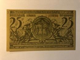 Allemagne Notgeld Ober Ammergau 25 Pfennig - [ 3] 1918-1933 : République De Weimar