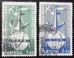 N708 PORTUGAL. 1952. SC#: 747,748 - USED - OTAN - SCV: US$ 16.00 - 1910-... Republik