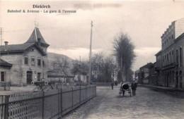 Luxembourg - Diekirch - Dahnhof & Avenue - La Gare & L' Avenue - Diekirch