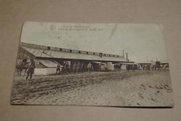 Camp De Casteau,cuisine De Troupe C.T. 5 Iem D.A.,ancienne Photo Carte Postal,goupe,militaires,originale - War 1914-18
