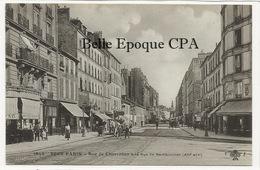 75 - TOUT PARIS ( Noir ) 12 - #1943 - Rue De Charenton à La Rue De Rambouillet +++ F. FLEURY +++ 1909 +++ Parfait état - District 12