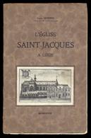 Louis HENDRIX - L'église St Jacques à Liège. - Belgique