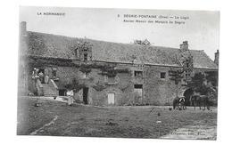 61/ ORNE...SEGRIE FONTAINE. Le Logis. Ancien Manoir Des Marquis De Ségrie - Otros Municipios