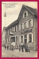 CPA Bietlenheim - Restaurant Et Poste Au Cerf - Propriétaire Chrétien Ritter - Andere Gemeenten