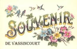55 - Meuse / Fantaisie - CPM Format Cpa - Format 14 X 9 Cm - Carte Postale Moderne - 554839 - Vassincourt - France