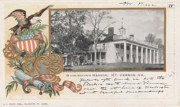 WASHINGTON D.C. - 5 Cartes Postales écrites En 1902 à Destination De New York City  ( Cartes En Relief Rares ) - Washington DC