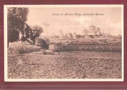 "INDIA Inde - Hyderâbâd Golkonda (Golconde) Qutb ""KHUTUB SHAHI TOMBS"" Golconda HYDERABAD - Inde"