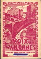 Voix Wallonnes - 1937. - Belgique