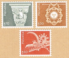 ** LA SERIE TIMBRES NEUFS 1973 C/.S.B.K. Nr:537.539/540. Y&TELLIER Nr:918/920. MICHEL Nr:991/993.** - Suisse