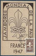 Jamboree Mondial De La Paix - Moisson , France 1947 - Scoutisme - Scoutisme