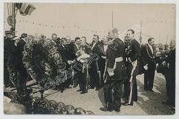 (Calais) Carte Photo. Inauguration Du Monument Aux Victimes Du Pluviôse. 22 Juin 1913. Le Vice-amiral Jauréguiberry. - Calais
