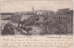 Bs - Cpa Luxembourg - Boulevard Du Viaduc - Luxembourg - Ville