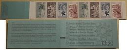 CULTURES  IMMIGRANTS IMMIGRANTEN IN SWEDEN SCHWEDEN SUEDE  1982 BOOKLET MI MH 89 1201 - 1204  MNH 2 STAMP SETS - Cultures