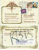 (e916) Karte Italien Abs Torin N. Vagliagli Nachporto Tax - Entiers Postaux