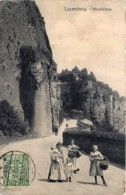 Luxembourg - Bockfelsen - Luxemburg - Stadt