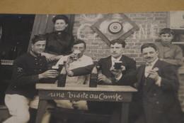 Groupe De Soldats,envoi à Gand,Gent,1912,poilus,ancienne Photo Carte Postal,goupe,militaires,originale - War 1914-18