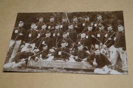 4 Iem. Régiment De Lanciers,classe 1911-1913,envoi à Gand,poilus,ancienne Photo Carte Postal,goupe,militaires,originale - Guerre 1914-18