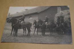 Soldats A Cheval 1913,envoi à Gand,Gent,poilus,ancienne Photo Carte Postal,goupe,militaires,originale - War 1914-18