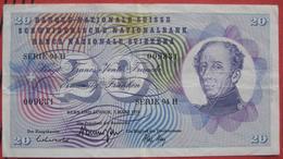 20 Franken 1973 (WPM 46u) - Suisse