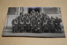 Groupe De Soldats,poilus,ancienne Photo Carte Postal,goupe,militaires,originale - Guerre 1914-18