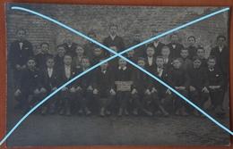 Photo Carte LESSINES 1907 Ecole Moyenne 6ème Prép Classe Garçons Enseignement School - Lieux