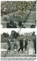 NATATION : PHOTO (1952), JEUX OLYMPIQUES, HELSINKI, JEAN BOITEUX REMPORTE LA MEDAILLE D'OR DU 400 METRES NAGE LIBRE - Natation